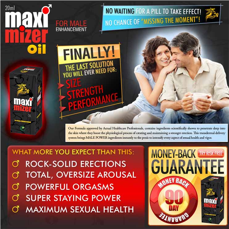 maximizer plus oil